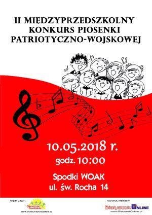 III Międzyprzedszkolny Konkurs Piosenki Patriotyczno-Wojskowej
