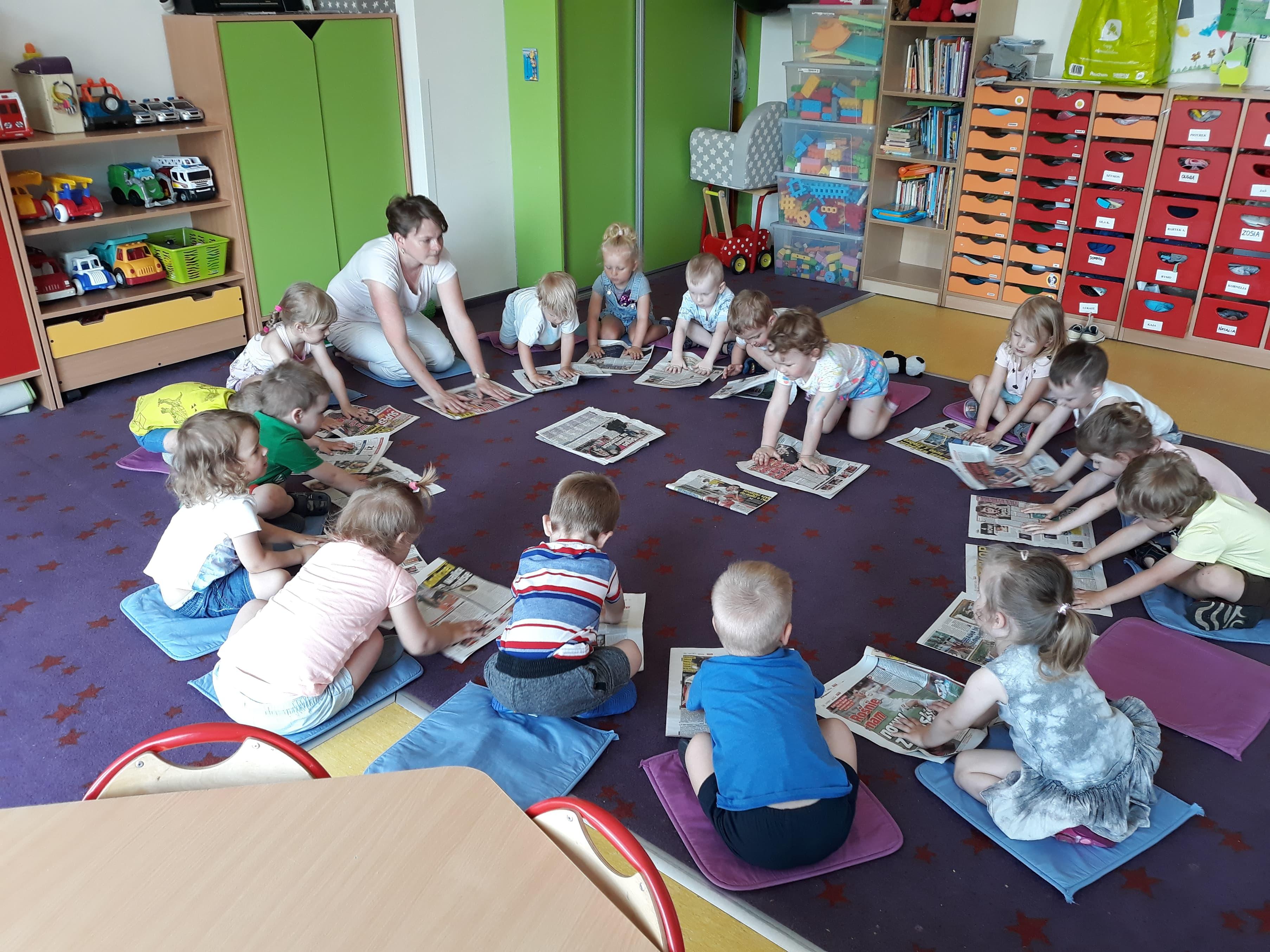 Nareszcie Dzień Dziecka Słoneczne Przedszkole